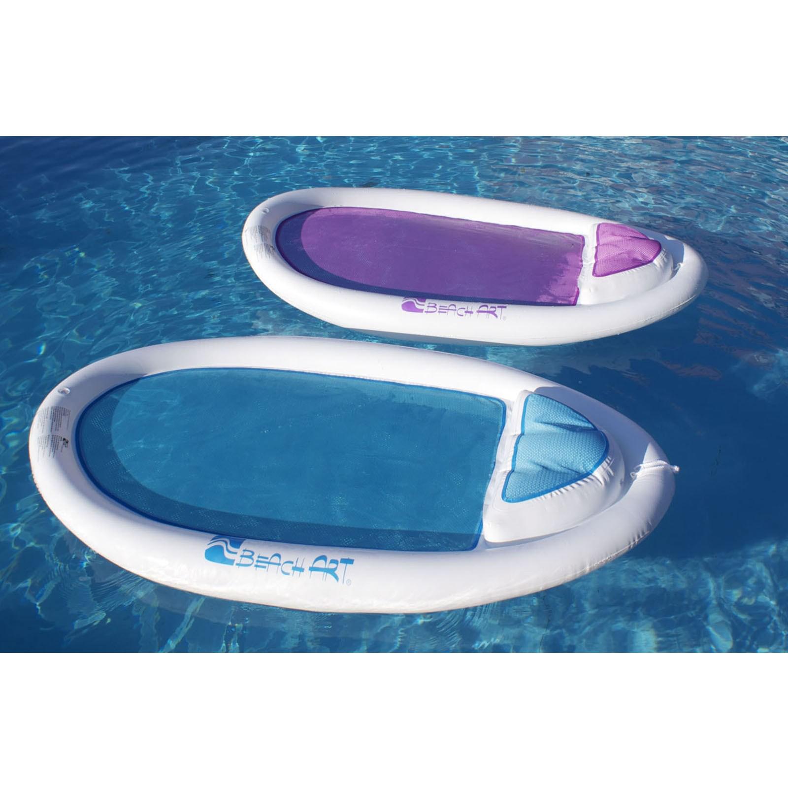 Amaca poltrona galleggiante materassino per mare piscina for Materassini piscina