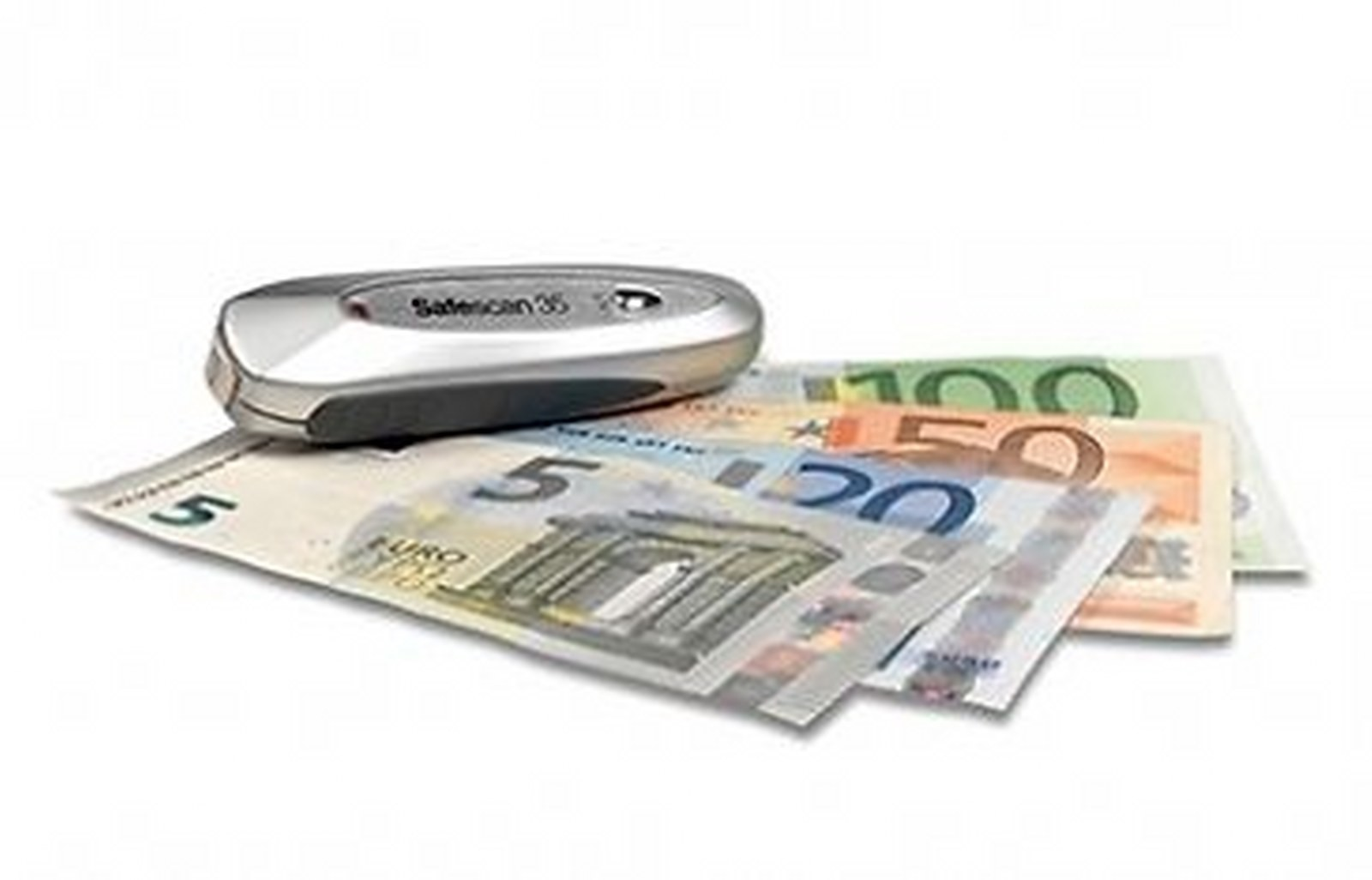 Rilevatore Banconote False Portatile Verifica EURO Professionale Banknote Detector