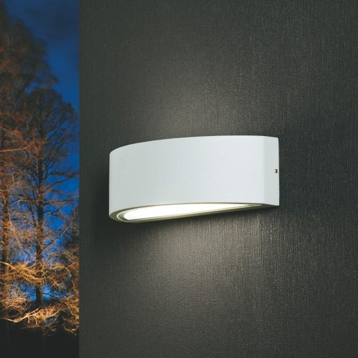 Plafoniere Esterno Illuminazione.Plafoniera Stagna Applique Da Esterno Doppia Luce E27 Alluminio