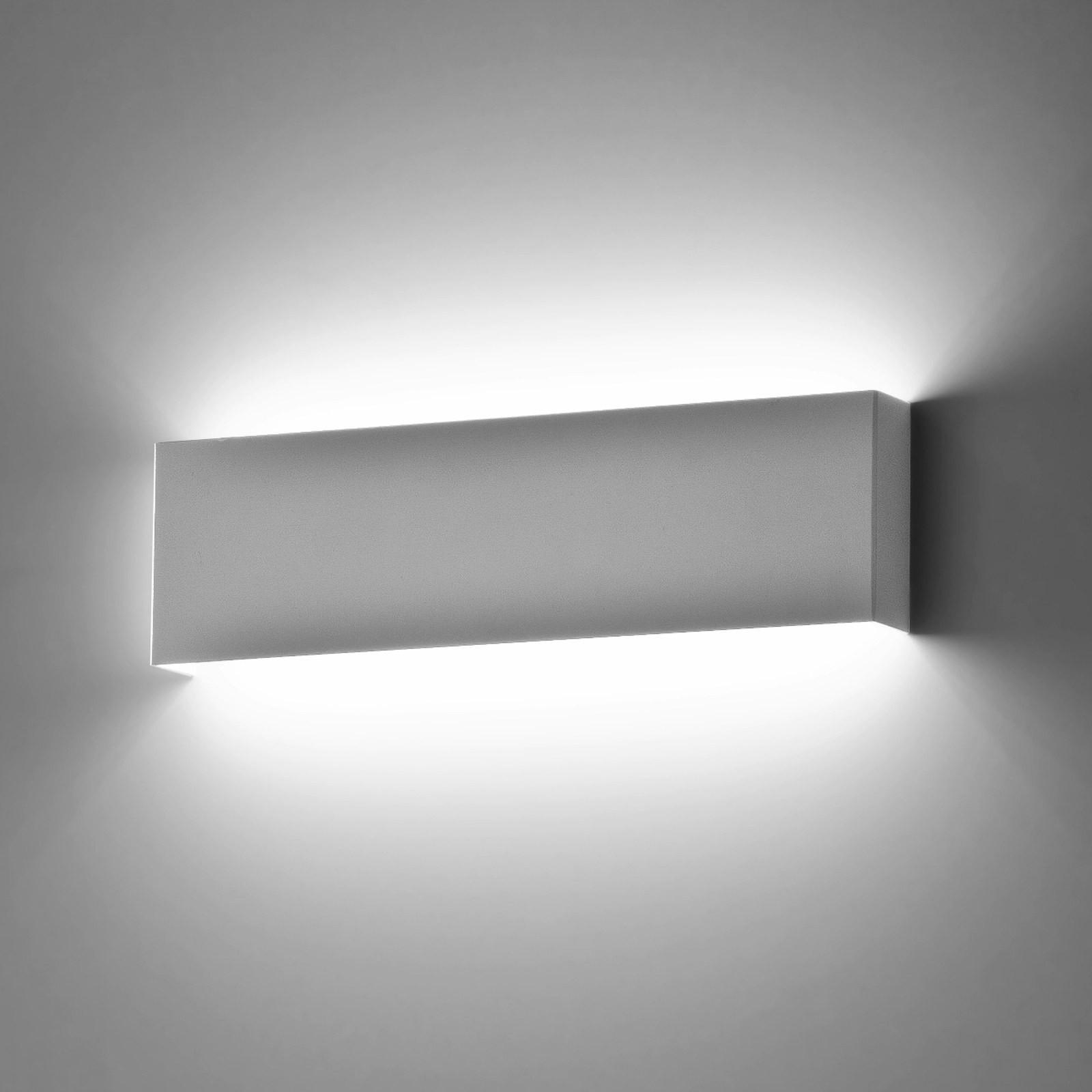 Lampade Al Neon Da Parete plafoniera applique da parete muro lampada isyluce 901 moderno design  bianco 18w