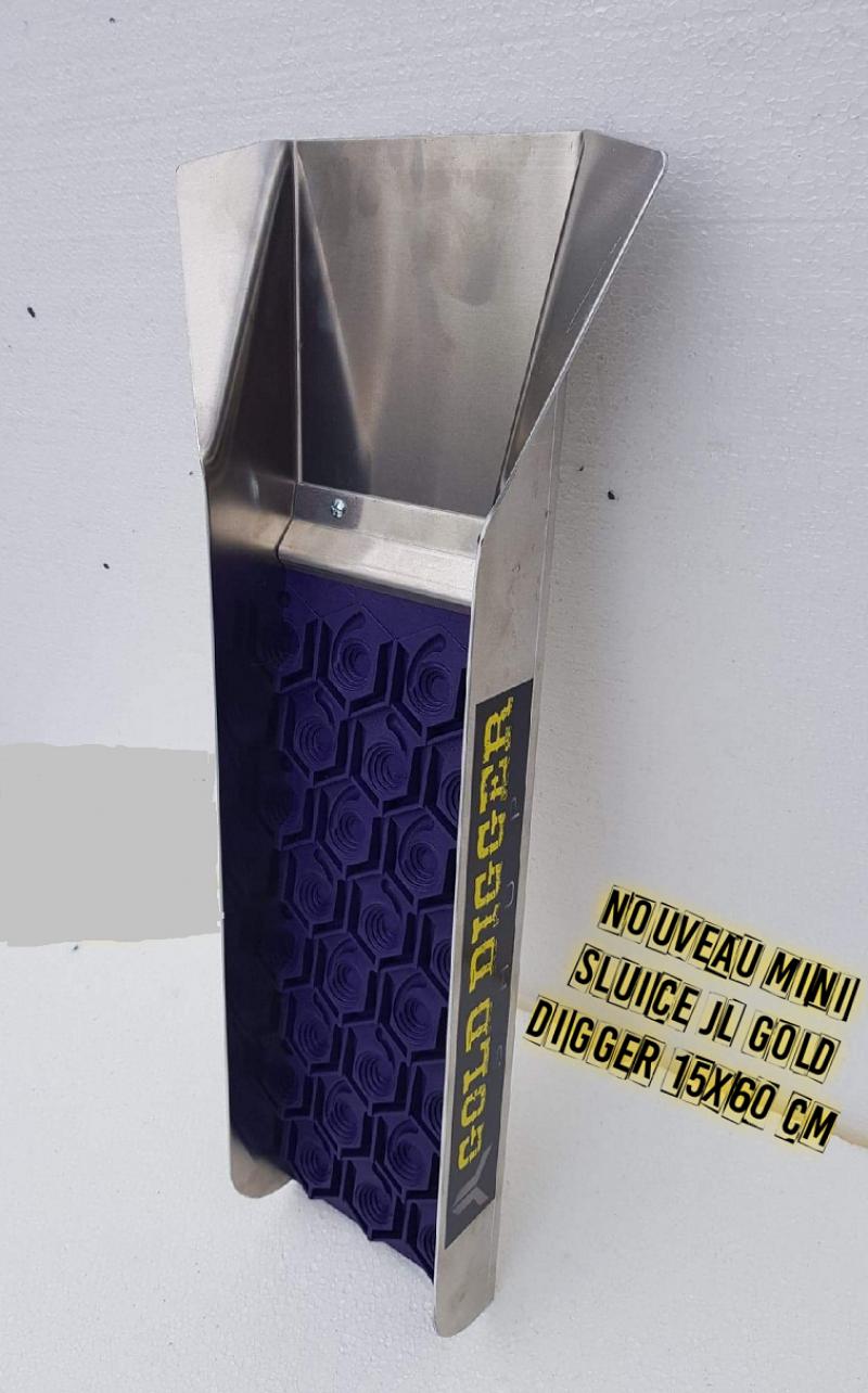 Scaletta Canaletta per Ricerca Oro Mini Sluice JL Fiumi Metal Detector