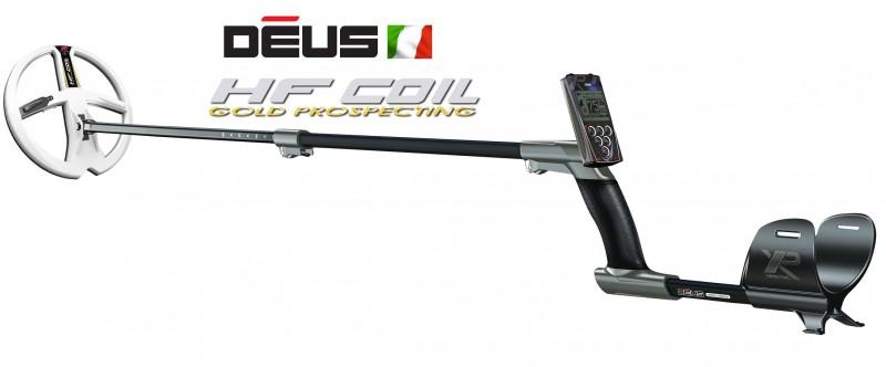 """Metal detector Deus Xplorer Piastra 9"""" HF Alta Frequenza Light Telecomando RC"""
