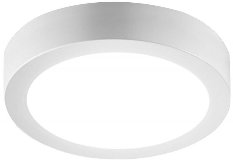 Plafoniere Incasso Led : Plafoniera led w rotonda da incasso bianca luce calda k