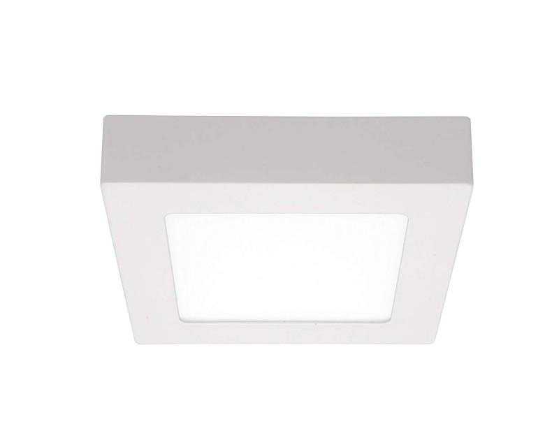 Plafoniere Slim Led Calda : Plafoniera led k in vetro bianco trasparente