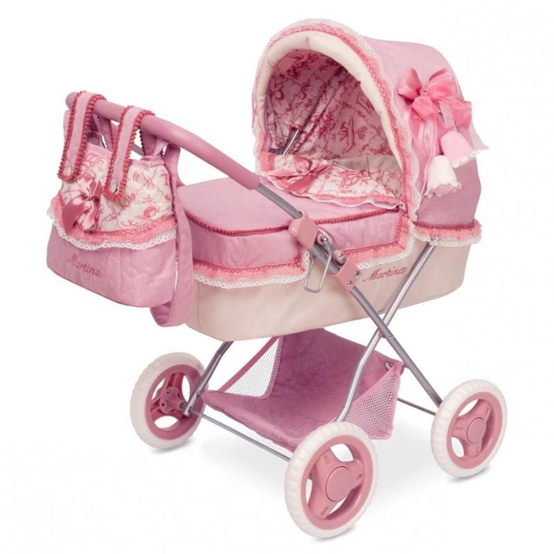 Kreativa DECUEVAS TOYS Auto Bambola Martina Pieghevole Multicolore Rosa