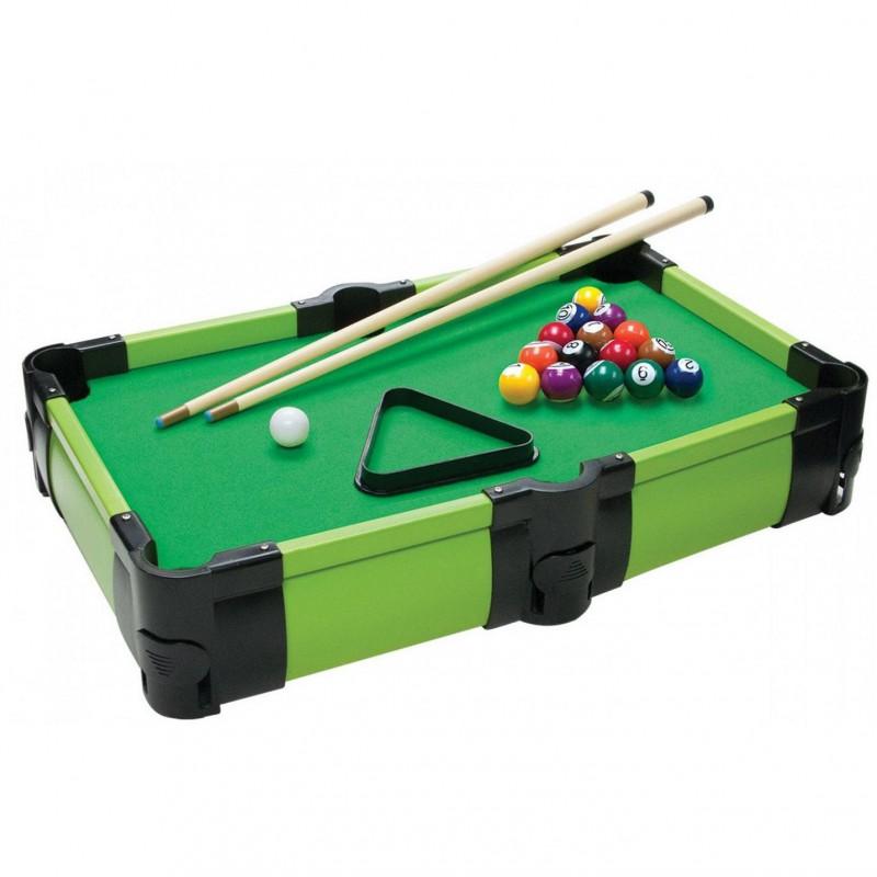 Giocheria Sun & Sport Biliardo da Tavolo Gara Sfida 2 techhe 16 palline incluse