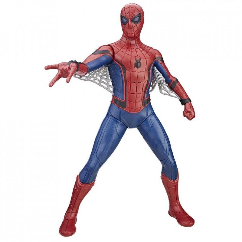 Hasbro Marvel Spider-Man Personaggio Interattivo B9691103 Parla in italiano 40cm
