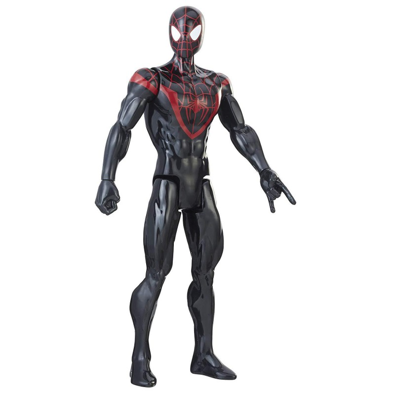 Hasbro Marvel Spiderman Figurine Titan Kid Arachnid 30 cm e2346 Colore Nero