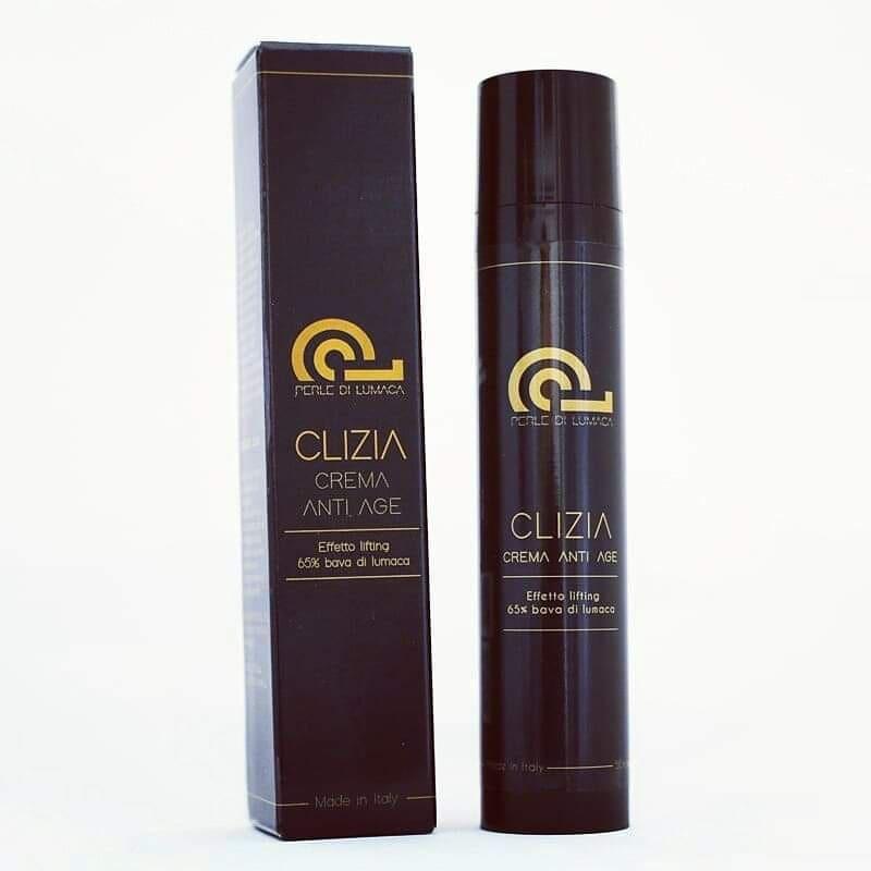 Crema Clizia Anti Età Age 65% Bava di Lumaca Pura Certificata Effetto Lifting 100% Naturale