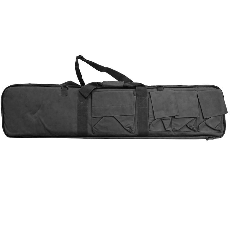 Custodia Borsa Porta Fucile Carrabina Nera Militare 107 cm