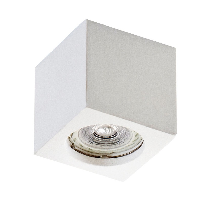 Porta Faretto a Cubo in Alluminio per Lampadina GU10 Isyluce