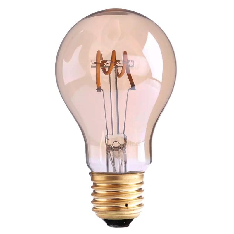 Lampade A Led A Filamento.Lampada Led A Filamento 3w E27 Luce Calda Soft Vintage Life