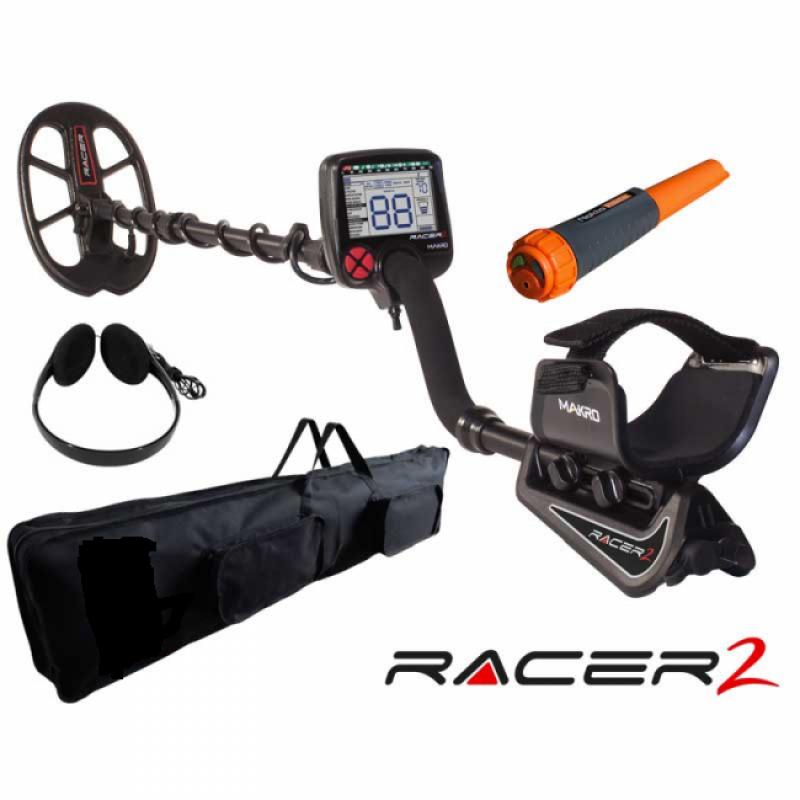 Nokta Makro Racer 2 Promo Natale Metal Detector Omaggi Pointer Borsa