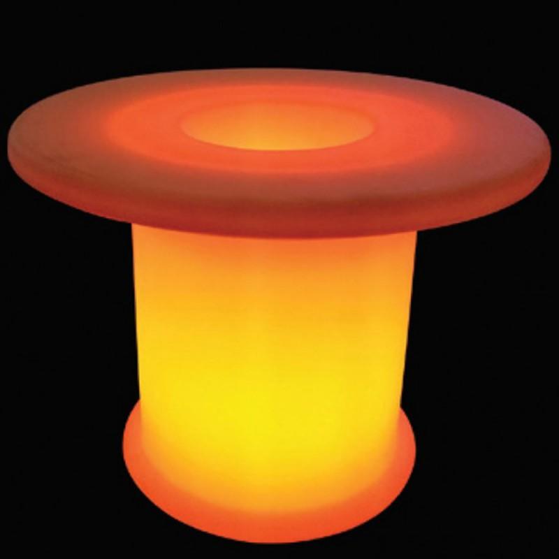 Tavoli Luminosi Da Esterno.Lampada Tavolo Rgb A Led Luminoso Colori Cangianti Da Esterni 106