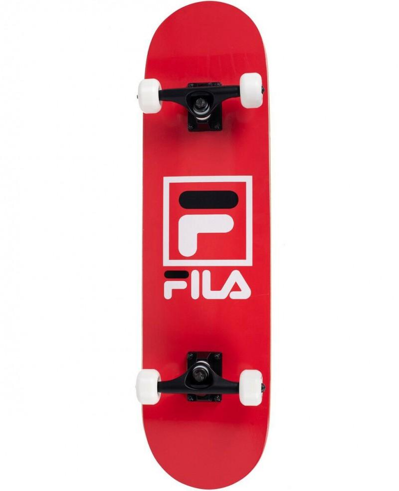 Skateboard Professionale Senior Filas Rosso Completo con Ruote