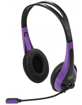 Cuffie Stereo per PC e Notebook Trevi Viola SK 644 S
