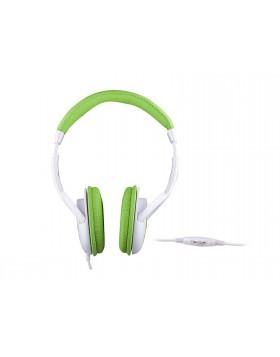 Cuffie Stereo Per tv Trevi Con cavo Verde