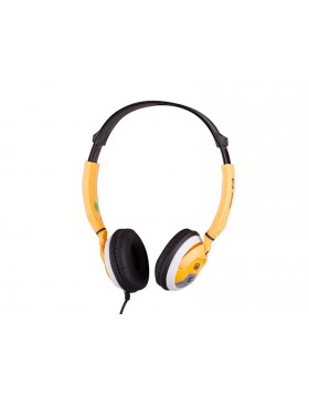 Cuffie Digital Stereo Per dispositivi multimediali Trevi Rocker Giallo