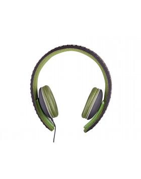 Cuffie Hi-Fi Digital Stereo Tablet Trevi Microfono Borchie Verde