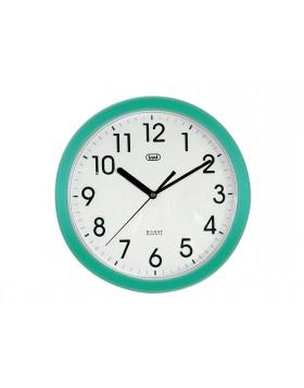 Orologio da parete Trevi Moderno Muro Silenzioso Verde Per negozio Locali Camera