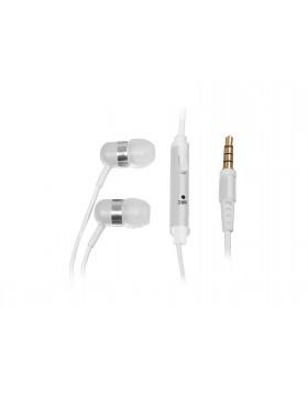 Cuffie Auricolari In Ear Con microfono Trevi HMP 694 M Bianco