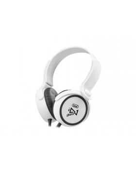 Cuffie Stereo Con microfono Trevi DJ Bianco