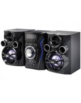 Sistema HiFi con casse Altoparlanti Cassa Trevi Coppia 2 vie Stereo Led Speaker