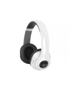 Cuffie con microfono Radio Mp3 e Bluetooth Trevi Bianco