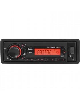 AUTORADIO INGRESSO USB MEMORIA SD CARD PORTA AUX SENZA LETTORE RADIO FM TREVI