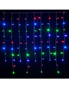 Tenda Luminosa 3 Metri 280 Led Luci Addobbi di Natale Luce Multicolor