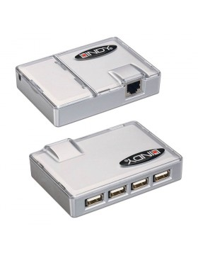 Extender USB con Hub 4 porte integrato