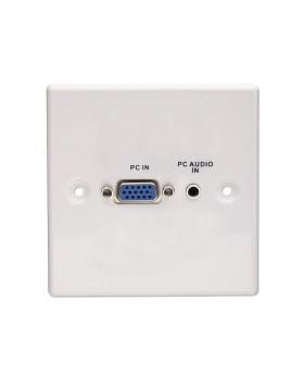 Presa a muro VGA e Audio