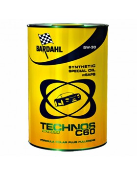 1 LITRO OLIO SINTETICO PER AUTO MOTORE BENZINA DIESEL TECHNOS BARDAHL C60 5W30