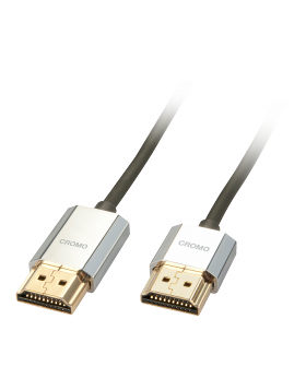 Cavo Slim HDMI High Speed Slim CROMO® 1m