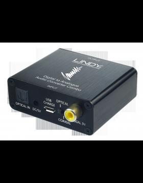 Convertitore audio DAC Combo toslink & coassiale192kHz