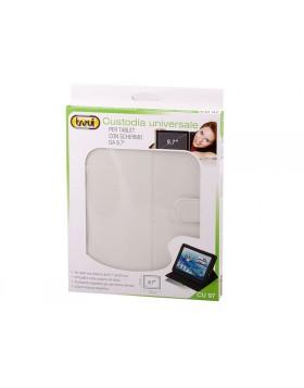 Custodia Schermo 7 pollici Tablet Universale Trevi CU 07 Bianco