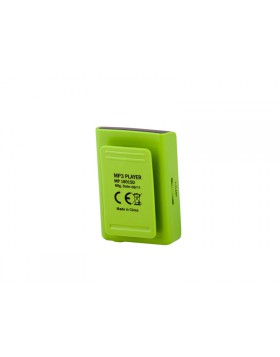 MINI LETTORE MP3 SCHEDA MEMORIA MICRO SD 2GB RADIO FM CON DISPLAY TREVI VERDE