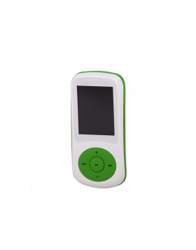 LETTORE MP3 VIDEO WMA WAV AUDIO RADIO FM MICRO SD USB TREVI MPV 1730 VERDE NUOVO
