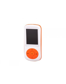 LETTORE MP3 VIDEO WMA WAV AUDIO RADIO FM MICRO SD USB TREVI MPV 1730 ARANCIONE