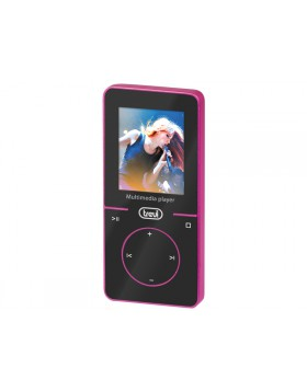LETTORE MP3 VIDEO WMA WAV AUDIO RADIO SCHEDA MICRO SD 4GB DISPLAY TREVI FUCSIA