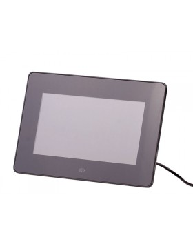 "CORNICE DIGITALE LED 7 "" POLLICI FOTO SCHEDA SD CARD PENDRIVE USB TREVI NERA"