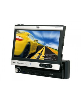 AUTORADIO MONITOR CON TV TELEVISIONE MP3 DVD USB SCHEDA SD CARD BLUETOOTH TREVI