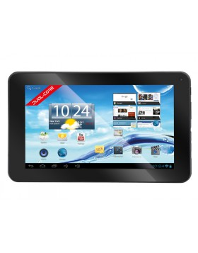 """TABLET ANDROID 4.2 7 """" POLLICI WIFI 4GB DUAL CORE TREVI TAB 7 C8 NERO 0T07C800"""