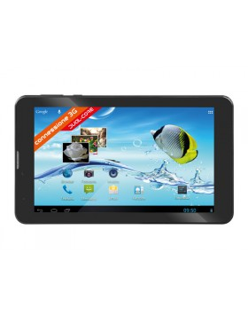 "TABLET ANDROID 7 "" POLLICI 3G WIFI 4GB DUAL CORE TREVI TAB 7 S8 NERO 0T07GS00"