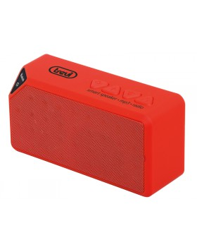 CASSA PORTATILE MINI ALTOPARLANTE CASSE BLUETOOTH RADIO LETTORE MP3 ROSSO TREVI