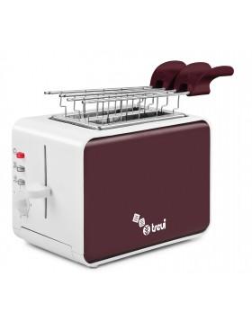 Tostapane Tostador Sandwich Trevidea 800 W Con timer Tostatura Cottura Elettrico