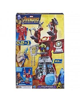 Hulkbuster Gigante Avengers 55 cm Playset battaglie Marvel