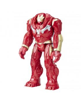 Hulbuster Personaggio Rosso Avengres Marvel 30cm Attiva Frasi e Suoni Collezione
