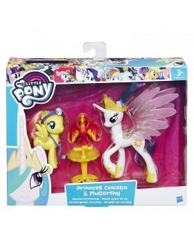 My Little Pony Amici Celestia Fluttershy e la Fenice Filomena Giochi Hasbro