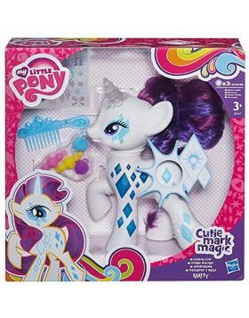 Bambola Elettronica Parlante My Little Pony Rarity Pettina La Criniera Hasbro